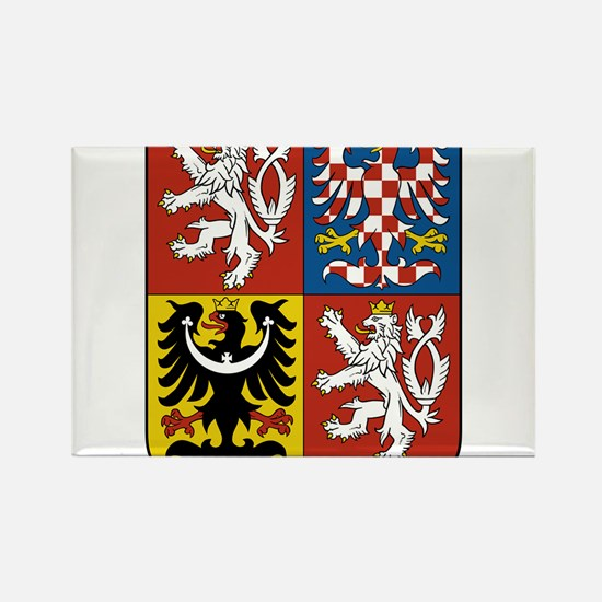 Czech Republic Coat Of Arms Rectangle Magnet