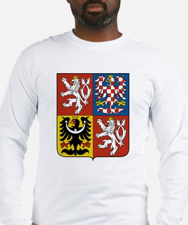 Czech Republic Coat Of Arms Long Sleeve T-Shirt