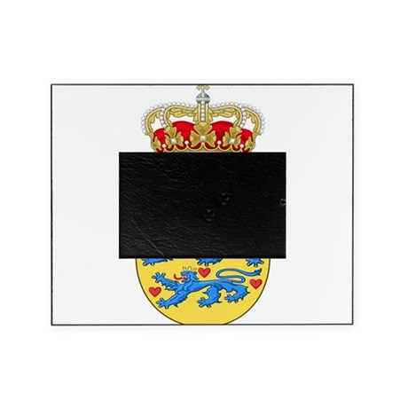 Denmark Coat Of Arms Picture Frame