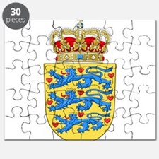 Denmark Coat Of Arms Puzzle