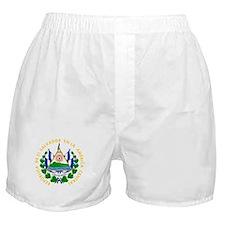 El Salvador Coat Of Arms Boxer Shorts