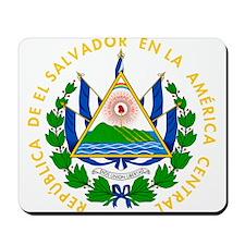 El Salvador Coat Of Arms Mousepad