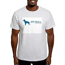 "Pit Bull ""One Cool Dog"" Ash Grey T-Shirt"