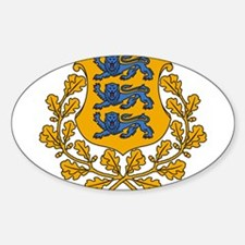 Estonia Coat Of Arms Decal