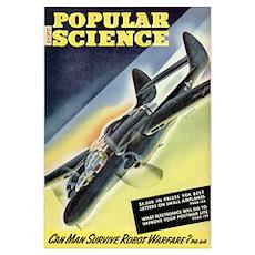 Popular Science Cover, September 1944 Poster
