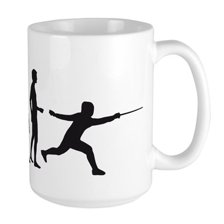 Evolution Fechter B.png Large Mug