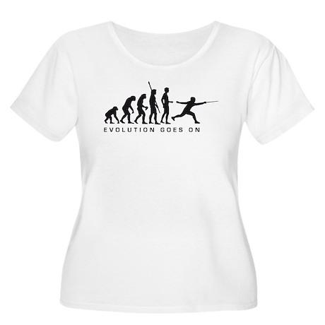 Evolution Fechter D.png Women's Plus Size Scoop Ne