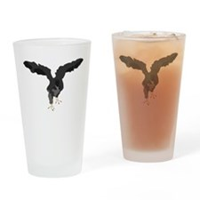 Young Eagle Drinking Glass