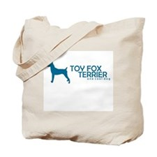 "Toy Fox Terrier ""One Cool Dog"" Tote Bag"