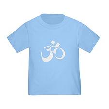 Unique Om yoga symbol T