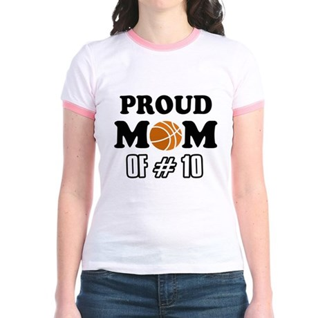 Cool Basketball Mom Designs Jr Ringer T Shirt Cool