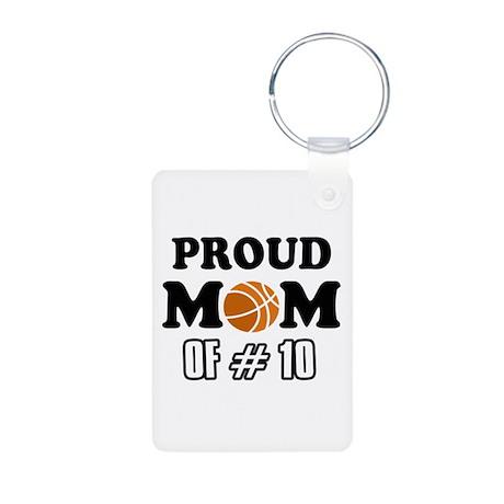Cool Basketball Mom Designs Aluminum Photo Keychai