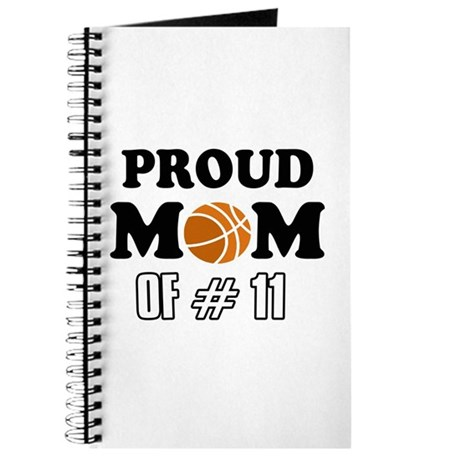 Cool Basketball Mom Designs Journal