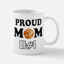 Cool Basketball Mom of number 1 Mug