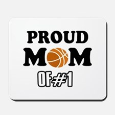 Cool Basketball Mom of number 1 Mousepad