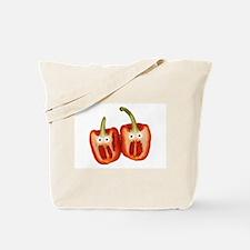 Screaming Peppers Tote Bag