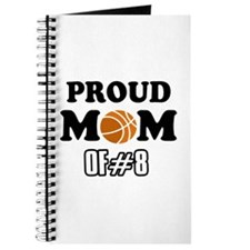 Cool Basketball Mom of number 8 Journal