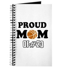 Cool Basketball Mom of number 23 Journal