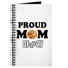 Cool Basketball Mom of number 27 Journal