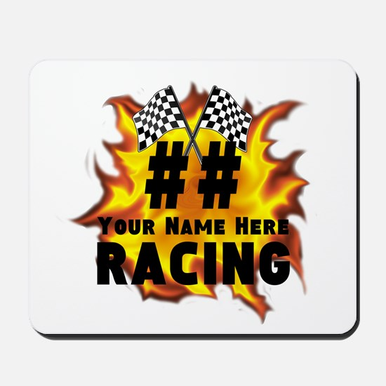 Flaming Racing Mousepad