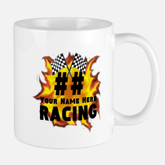 Flaming Racing Mugs