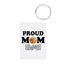 Cool Basketball Mom of number 32 Keychains