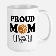 Cool Basketball Mom of number 40 Mug