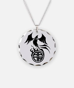 A.A.N.A. Phoenix B&W - Necklace
