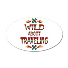 Wild About Traveling Wall Decal