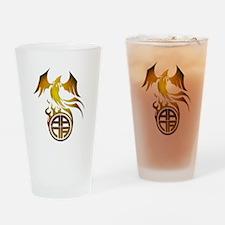 A.A.N.A. Logo Phoenix - Drinking Glass
