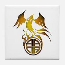 A.A.N.A. Logo Phoenix - Tile Coaster