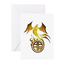 A.A.N.A. Logo Phoenix - Greeting Cards (Pk of 10)
