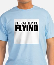 Rather Be Flying Mens Shirt