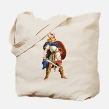 Scandinavian Viking Tote Bag