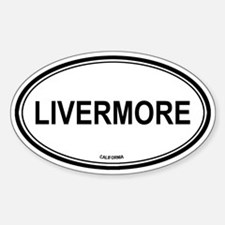 Livermore (California) Oval Decal