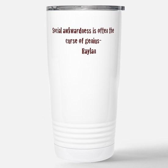 Social Awkwardness Stainless Steel Travel Mug