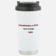 Social Awkwardness Travel Mug