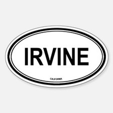 Irvine (California) Oval Decal