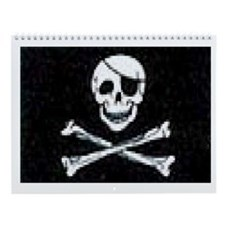 Pirate Cove Wall Calendar
