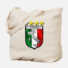 Italia Shield Tote Bag