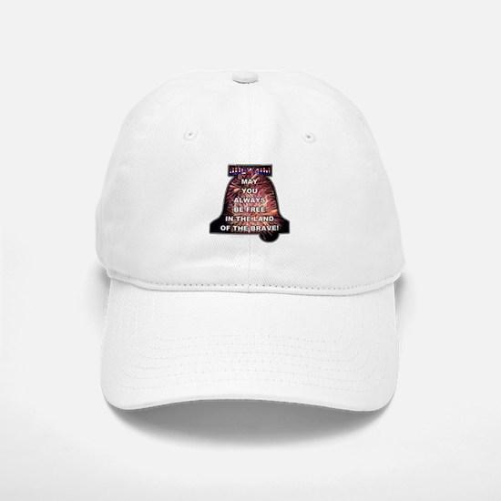 July 4th: 0008 Baseball Baseball Cap
