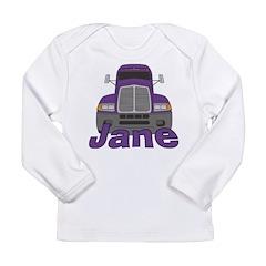 Trucker Jane Long Sleeve Infant T-Shirt