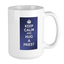 KEEP CALM - HUG A PRIEST Mug