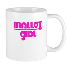 Pink Mallet Girl percussion Mug