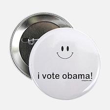 """i vote obama 2.25"""" Button"""