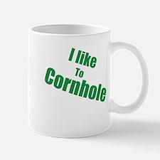 I Like To Cornhole Mug