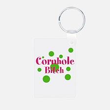 Cornhole Bitch Keychains