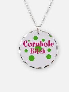 Cornhole Bitch Necklace