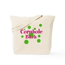 Cornhole Bitch Tote Bag