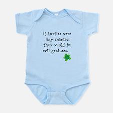 Smart turtles Infant Bodysuit